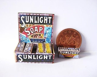 shop COUNTER display sunlight soap