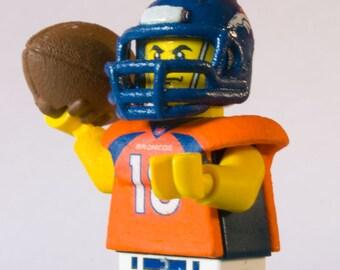 Custom Lego Payton Manning NFL American Football Minifigure
