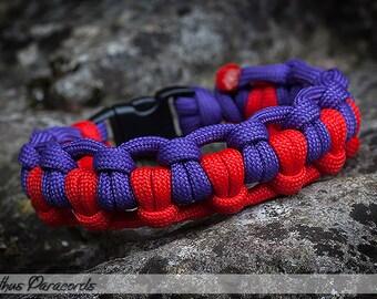 Cathus Half-hitch Paracord Bracelet
