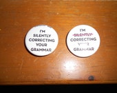 Correcting Your Grammar... buttons