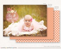 Thanksgiving Photo Card | Flat Printable and Printed Card Options