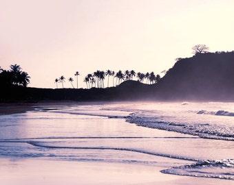 Philippine Beach Sunset Art Photography