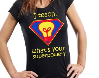 Teacher T-shirt Gift for teacher School T-shirt Teacher's Day gift tee shirt