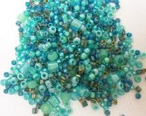 Toho Seed Bead Mix 10gr Seafoam Green 36168