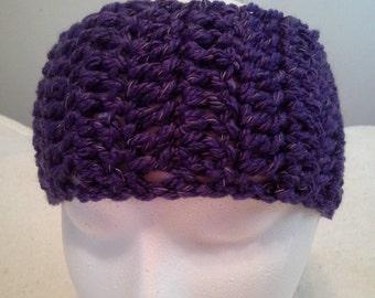 Crochet Reflective Headbands and Earwarmers