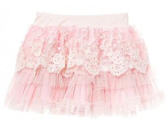 Tinkerbelle tutu. lace tutu. Girls lace skirt. flower girl. lace petti skirt. baby girl tutu. toddler lace tutu. toddler skirt