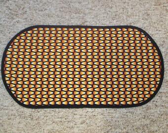Fall Halloween Candy Corn Table Runner Placemat Centerpiece 12 x 23