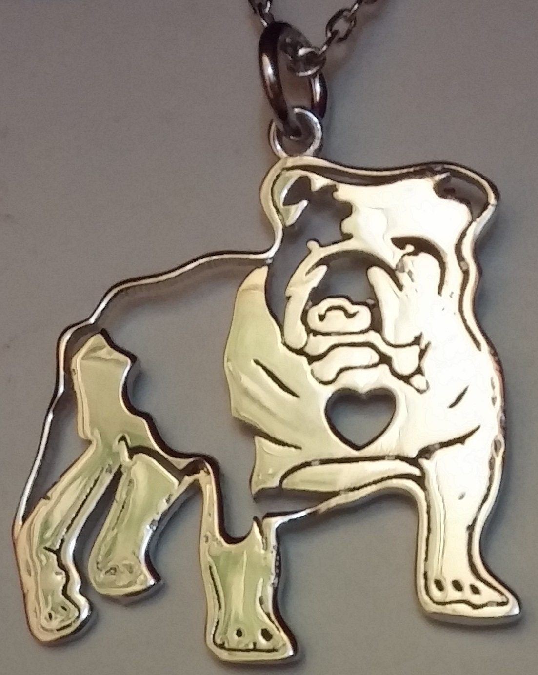 bulldog jewelry 925 sterling silver by