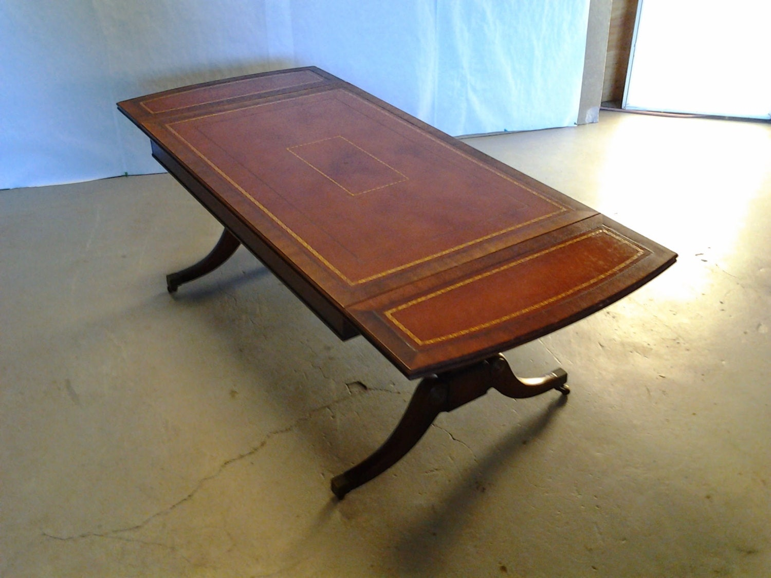 Antique Mahogany Coffee Table Heritage Henredon by BoardwalkRev