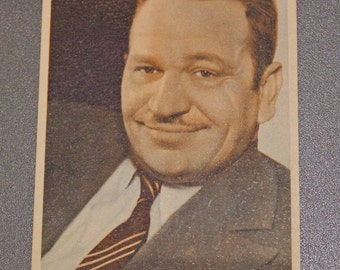 ZIP WALLACE BEERY. Special Edition of the 30 years of the Metro Goldwyn Mayer. - il_340x270.654634125_momf