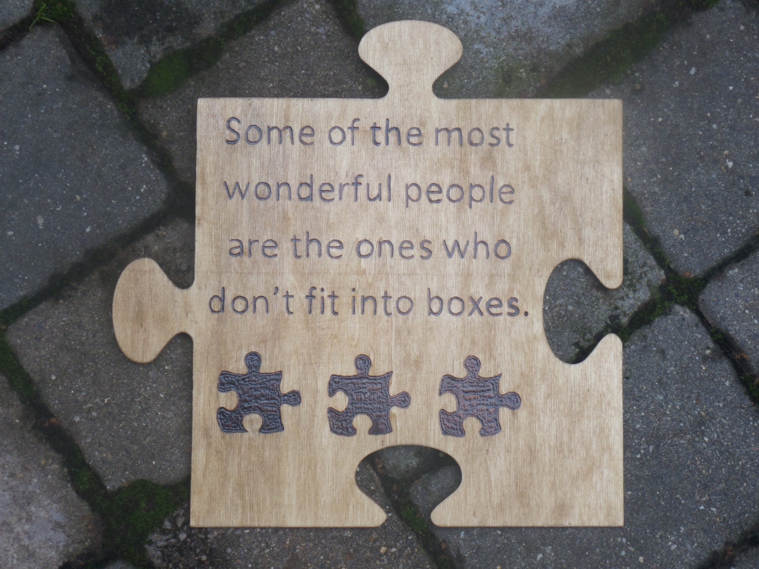 Puzzle Piece Wall Decor autism awareness puzzle piece some of the most wonderful