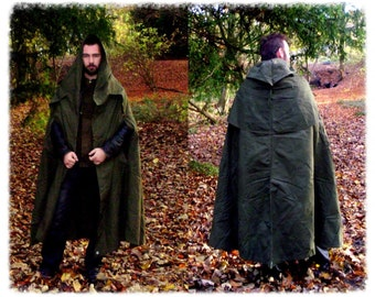 Canvas Rain Poncho In Green Genuine Army Surplus perfect for festivals hiking bushcraft hunting