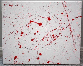 Dexter Inspired Trio Canvas Art - (3) 16x20 Canvases | Showtime Series | Horror Art
