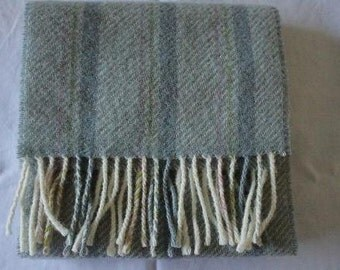 Portland Wool Scarf in Grey