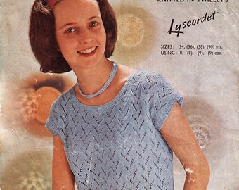 Lacy Sweater in Lyscordet - Twilley's 633