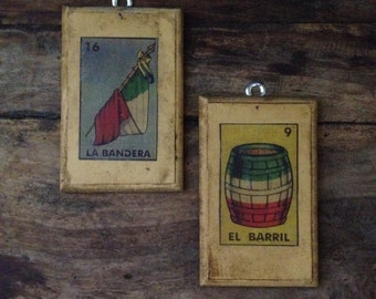 2 Spanish wall plaques