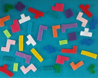 Tetris-Inspired Felt Board