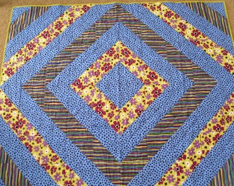 Bright and Bold Diamond Quilt