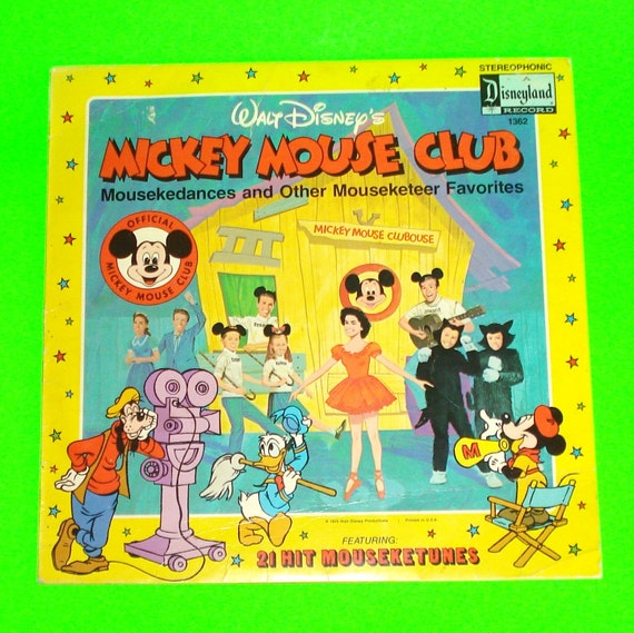 Disneyland Mickey Mouse Club Annette Funicello Mouseketeer