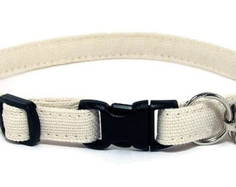 Cat Collar - Au naturel - Breakaway Safety Cute Fancy Cat Kitten Collar