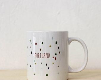 Portland Rain Mug