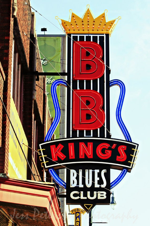 memphis tn photography bb king 39 s neon by jesspetersonphotos. Black Bedroom Furniture Sets. Home Design Ideas