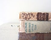 Vintage Book Collection for Home,  Wedding, or Kid's Room Decor