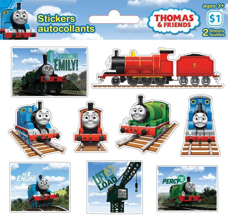 Thomas the Tank Stickers SALE Bundle Discount 11 Packs 2