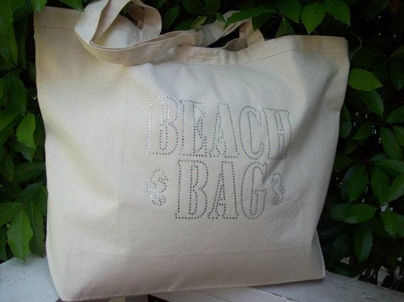 Fashionable Notes Beach Bag - Beach Bag Bling