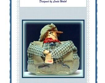 Peter - Primitive Farmer Shelf Sitter  Doll E-Pattern