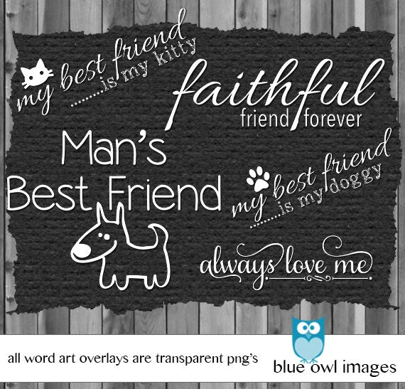 Pet Word Stamp Overlay Quotes Photoshop Brush Digital