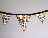harry Potter inspired Hogwarts students 3 foot banner bunting