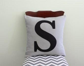 Alphabet Pillow - Case + Insert