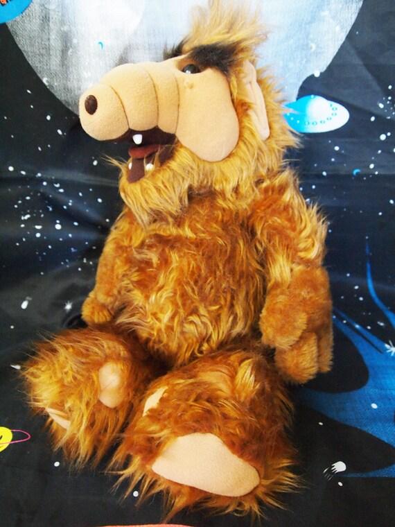 Alf Vintage 1986 Tv Cartoon Alf Stuffed Animal By