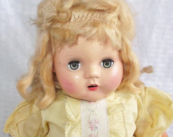 1940's Vintage Horsman Softee Doll 18 inches