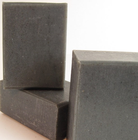 Charcoal Detox Face & Body Soap With Rhassoul Clay