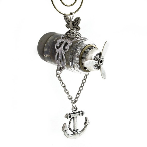 Anchors Away - Steampunk Airship, Zeppelin, Dirigible