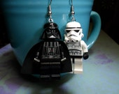 Darth Vader and Stormtrooper Combo Earrings