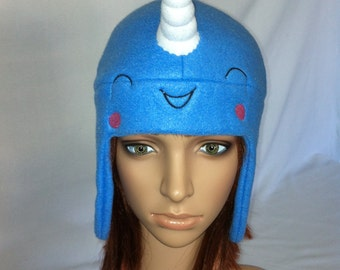 Narhwal Fleece Hat