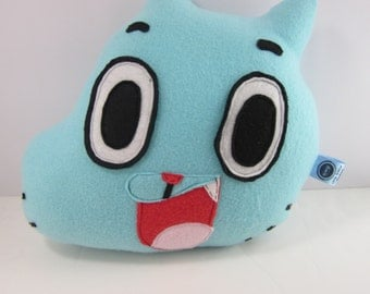 Gumball Plush Toy Pillow