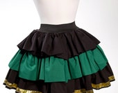 MADE TO ORDER Couture God of Mischief Lolita Inspired Skirt Medium