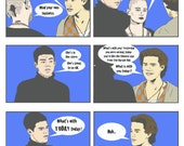 """EMPIRE RECORDS """"What's With Today Today"""" Mini-Comic Print"""