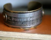 K. Porter Company, Inc – Riveted Vintage Metal Cuff