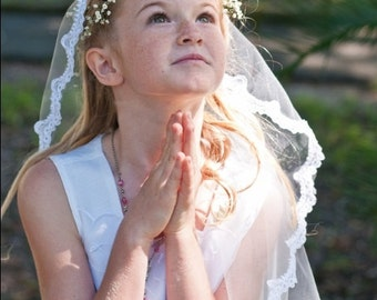 Girl's First Communion Veil