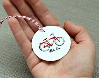 Retro Schwinn Bike Ornament, Bike Gift, Bicycle Ornament, Gift under 10