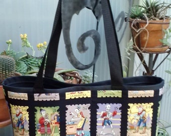 Loteria Shopping or Record Bag