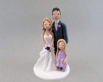 Customized Family Cake Topper