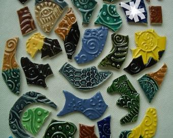 31Bc - Cool GRAFFITI TILES - Ceramic Mosaic Tiles