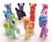 Pony Miniature Figurine (to make Charms and Decoden) - 1 pc