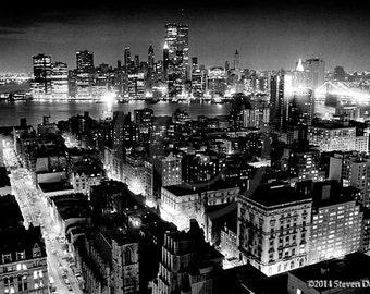 Brooklyn, New York City at Night, NYC